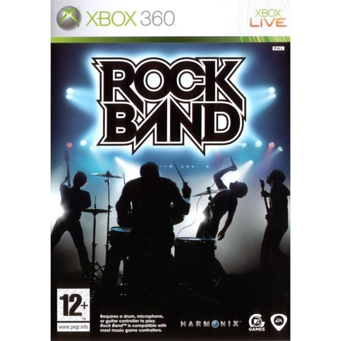 Игра Rock Band (Xbox 360) б/у