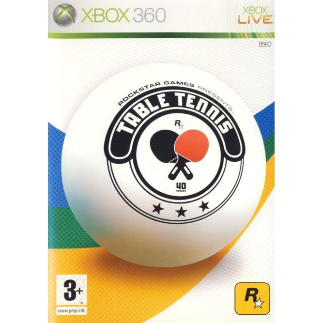 Игра Rockstar Games presents Table Tennis (Xbox 360) б/у
