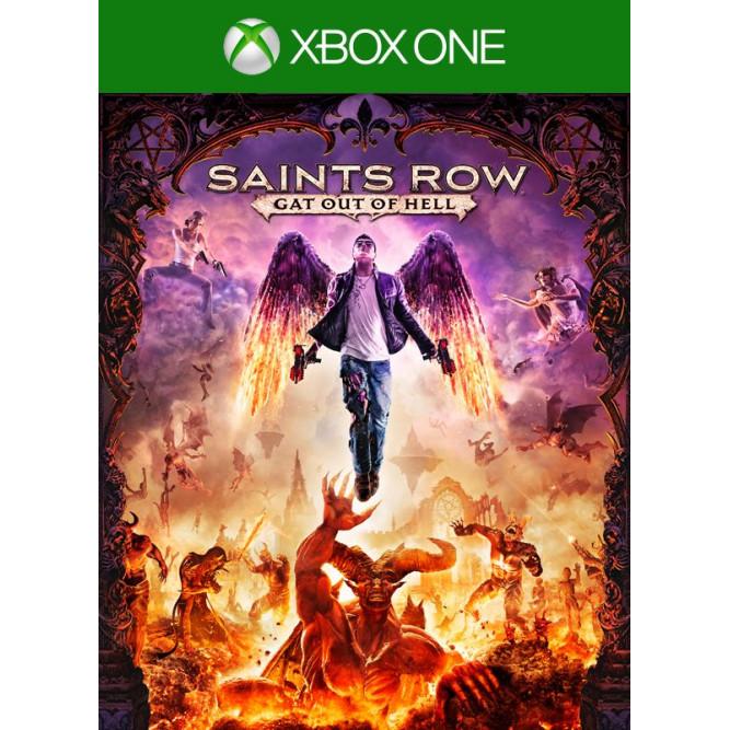 Игра Saints Row: Gat out of Hell. Издание первого дня (Xbox One) б/у