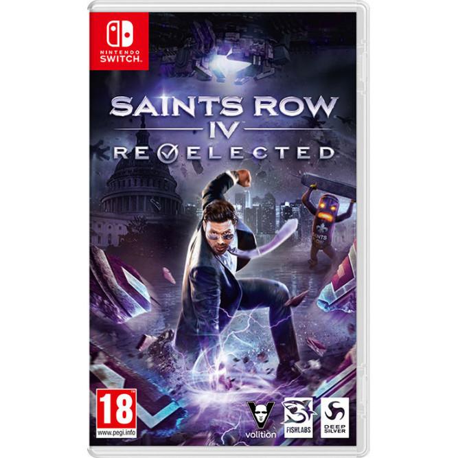 Игра Saints Row IV: Re-Elected (Nintendo Switch) (rus sub) б/у