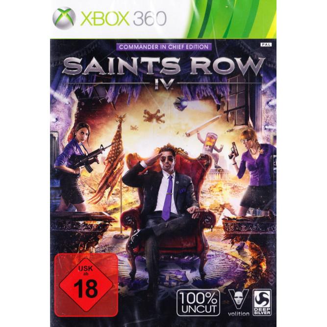 Игра Saints Row IV (Xbox 360) б/у