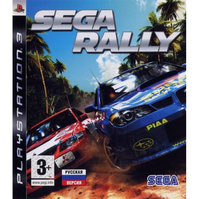 Игра SEGA Rally (PS3) (rus) б/у