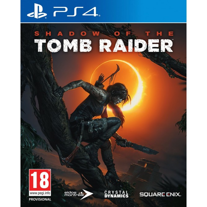 Игра Shadow of the Tomb Raider (PS4) б/у (rus)