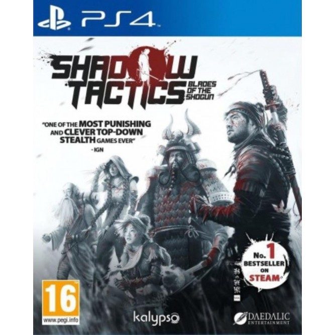 Игра Shadow Tactics: Blades of the Shogun (PS4) б/у (eng)