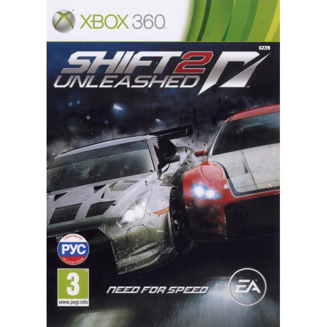 Игра Shift 2: Unleashed (Xbox 360) б/у