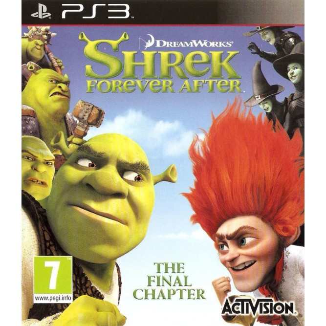 Игра Shrek Forever After: The Final Chapter (PS3) б/у