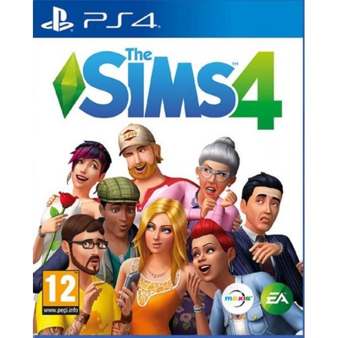 Игра The Sims 4 (PS4) б/у