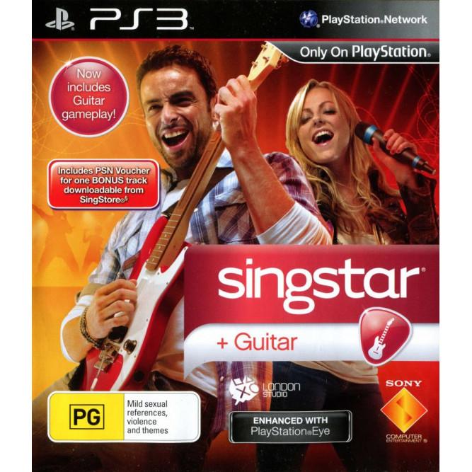 Игра SingStar: Guitar (PS3) (eng) б/у