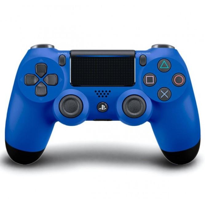 Геймпад Sony Dualshock 4 (PS4) V2, Синий (аналог)