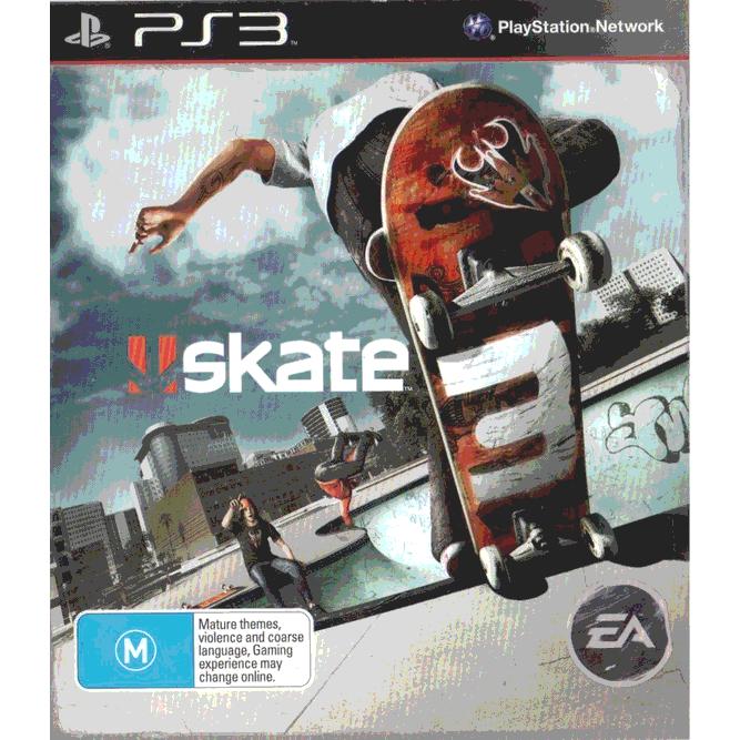 Игра skate 3 (PS3) б/у (eng)