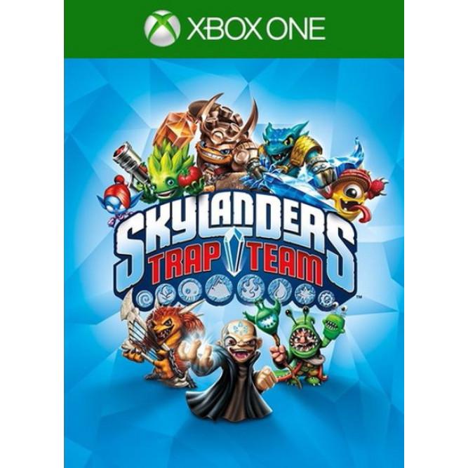 Игра Skylanders: Trap Team (только диск) (Xbox One) (eng) б/у