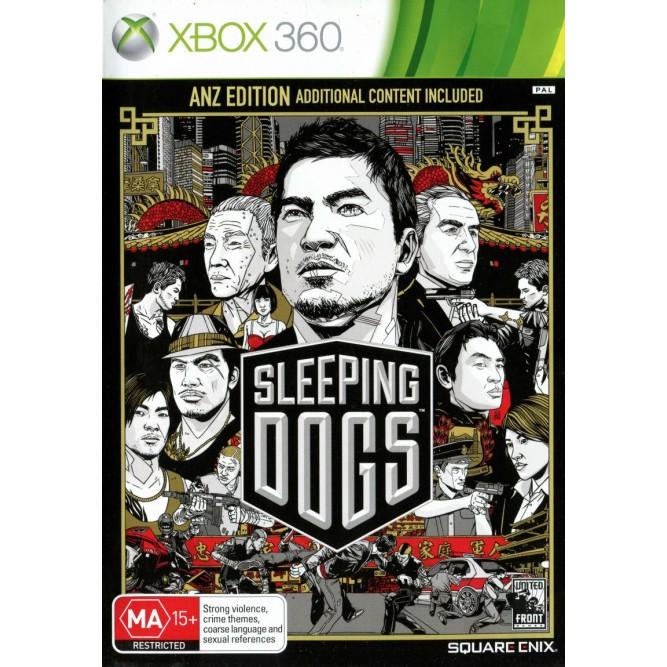 Игра Sleeping Dogs (Xbox 360) б/у