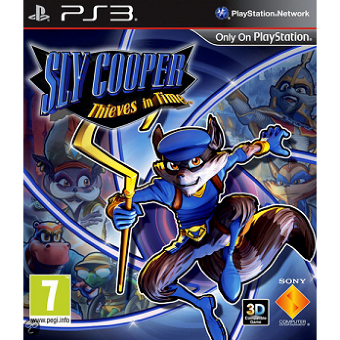 Игра Sly Cooper. Thieves in Time (PS3) (eng) б/у