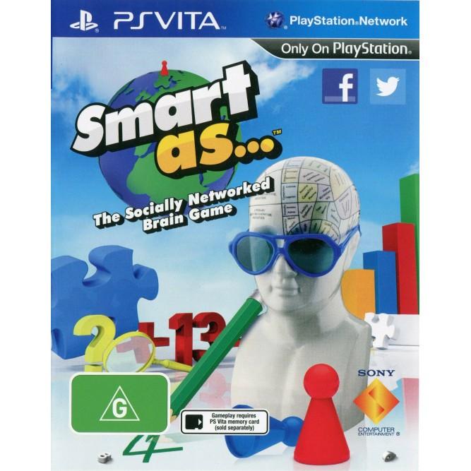 Игра Smart As (PS Vita)