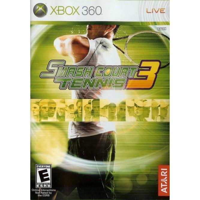 Игра Smash Court Tennis 3 (Xbox 360) (eng) б/у