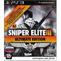 Игра Sniper Elite III: Afrika. Ultimate Edition (PS3) б/у rus