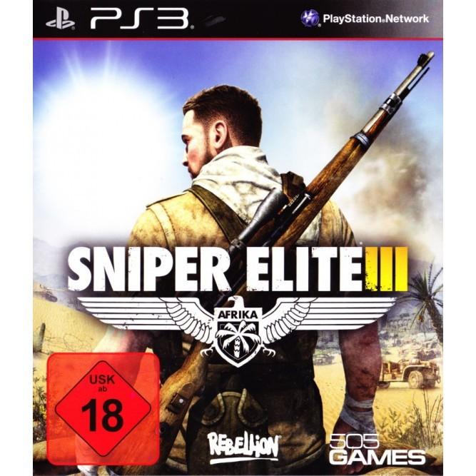 Игра Sniper Elite III: Afrika (PS3) б/у (rus)
