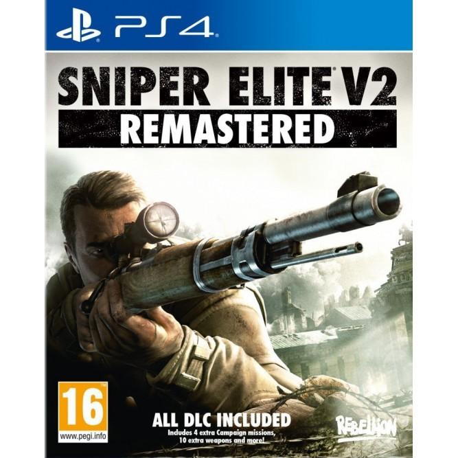 Игра Sniper Elite V2: Remastered (PS4) б/у