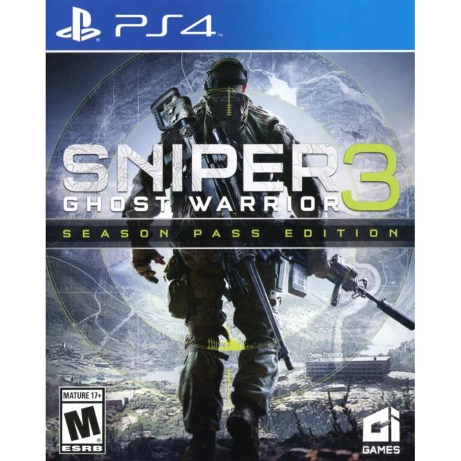 Игра Sniper: Ghost Warrior 3 (PS4) б/у