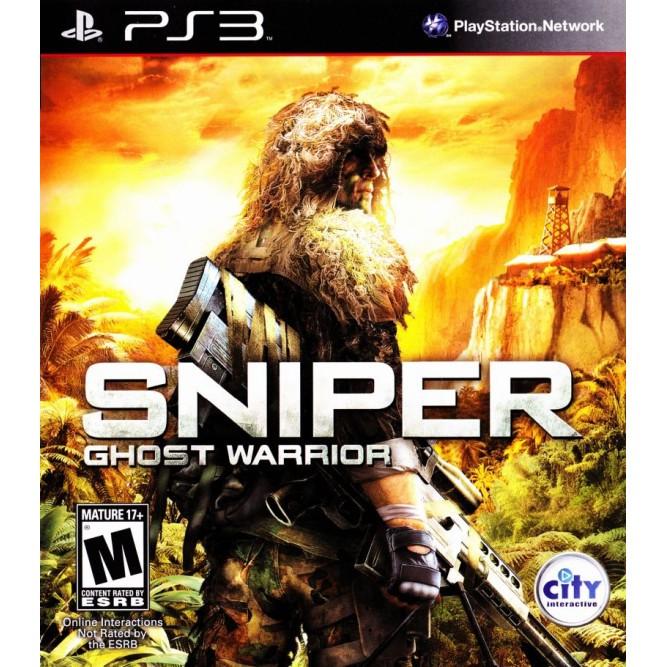 Игра Снайпер Воин-призрак (PS3) б/у