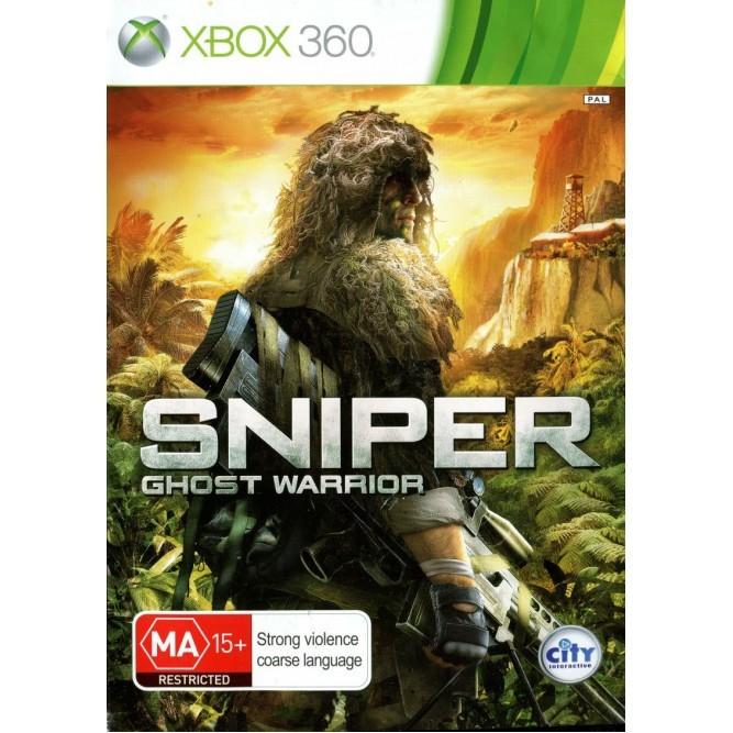 Игра Sniper: Ghost Warrior (Xbox 360) б/у