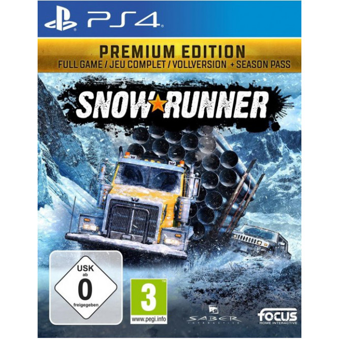 Игра SnowRunner. Premium Edition (PS4) (rus)