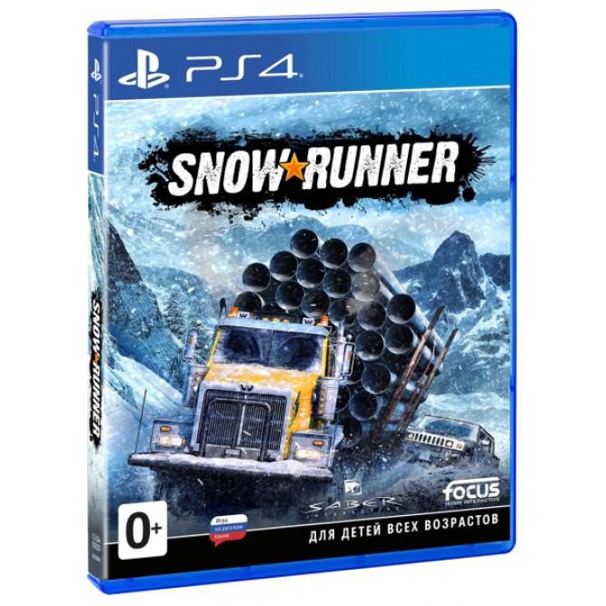 Игра SnowRunner (PS4) (rus)