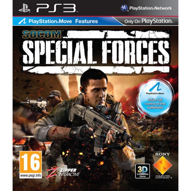 Игра Socom Special Forces (поддержка Move) (PS3) б/у