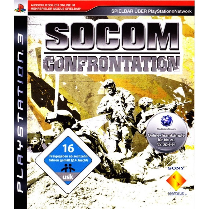 Игра SOCOM: Confrontation (PS3) б/у