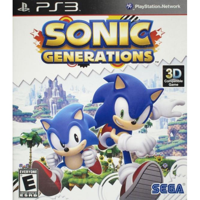 Игра Sonic Generations (PS3) б/у