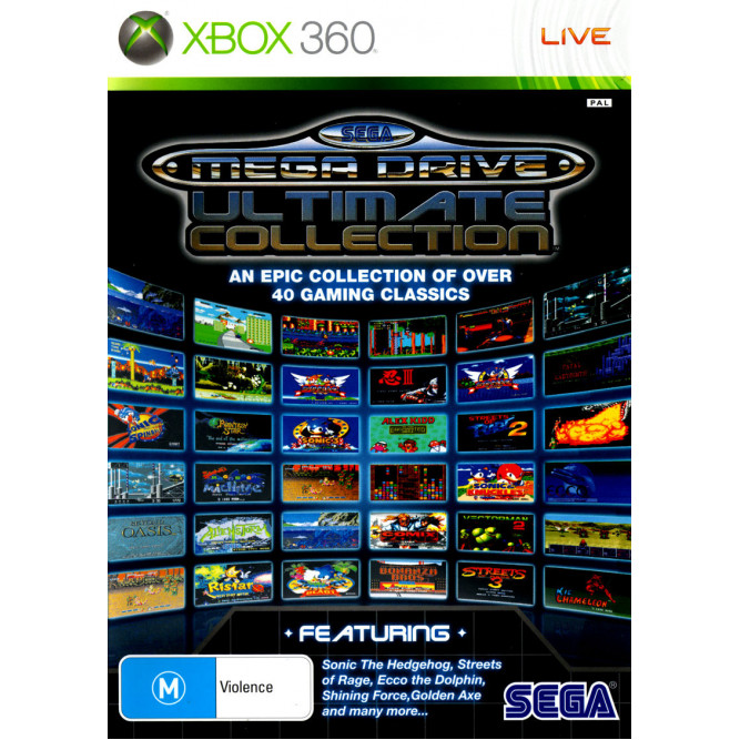 Игра Sega Mega Drive: Ultimate Collection (Xbox 360) б/у