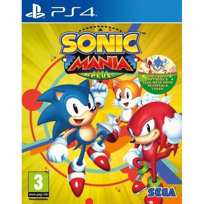 Игра Sonic Mania Plus (PS4) (eng) б/у