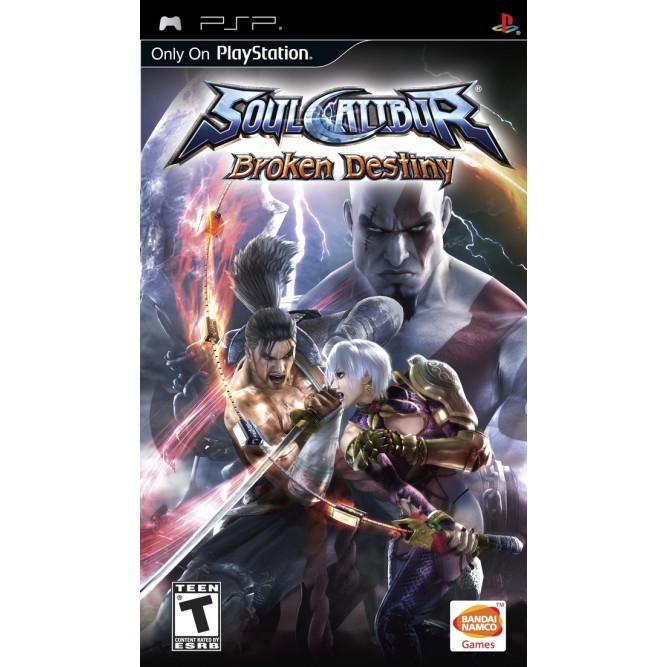 Игра SoulCalibur: Broken Destiny (PSP) б/у