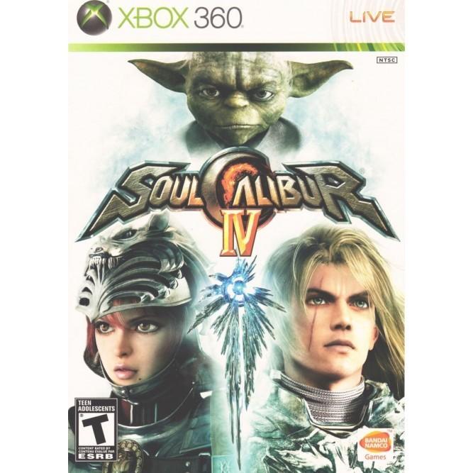 Игра SoulCalibur IV (Xbox 360) (eng) б/у