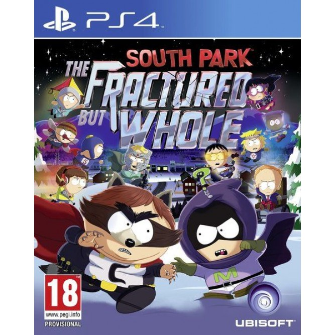 Игра South Park: The Fractured but Whole (PS4) б/у (rus sub)