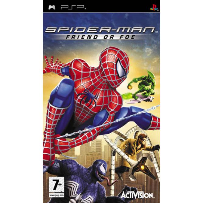 Игра Spider Man: Friend or Foe (PSP) б/у (eng)