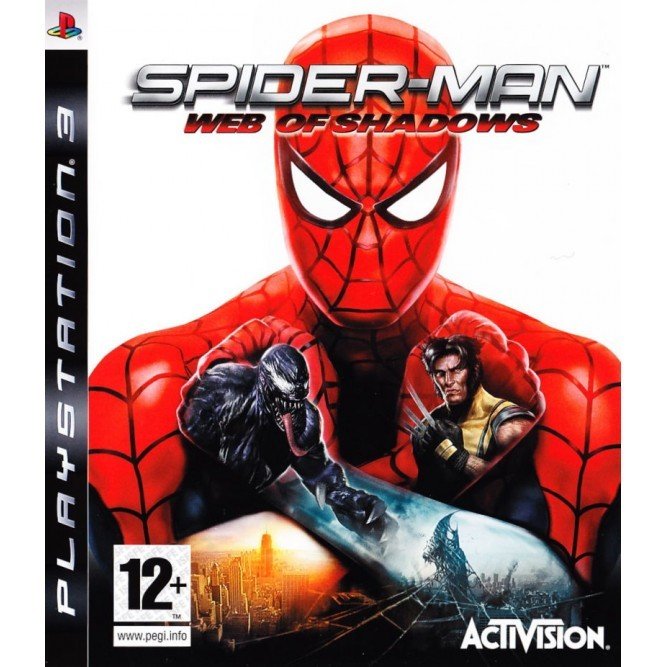 Игра Spider-Man: Web of Shadows (PS3) б/у