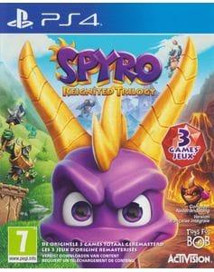 Игра Spyro: Reignited Trilogy (PS4) б/у (rus sub)
