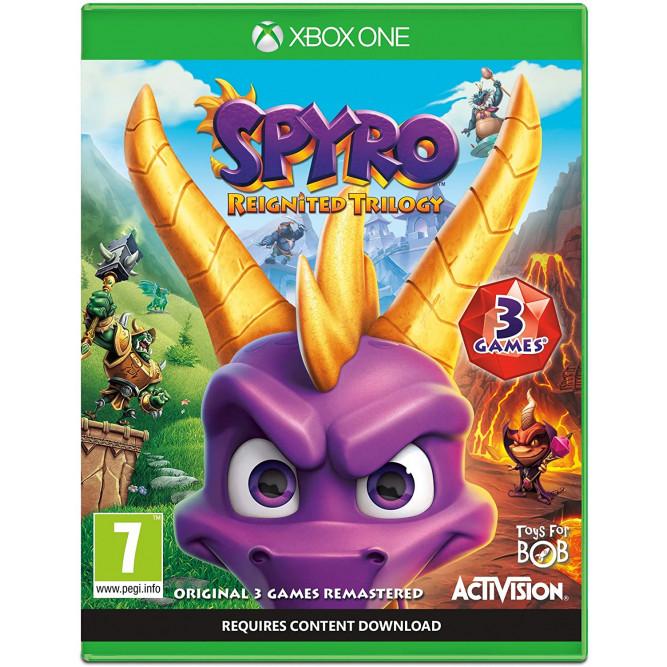Игра Spyro Reignited Trilogy (Xbox One) (eng) б/у