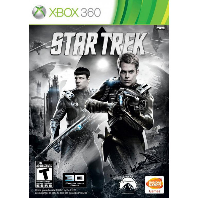Игра Star Trek (Xbox 360) (eng) б/у