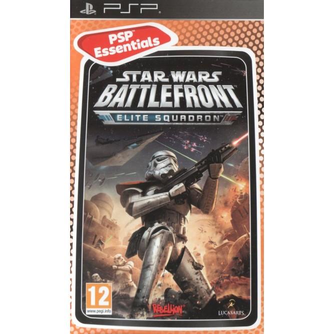 Игра Star Wars: Battlefront. Elite Squadron (PSP) б/у (eng)