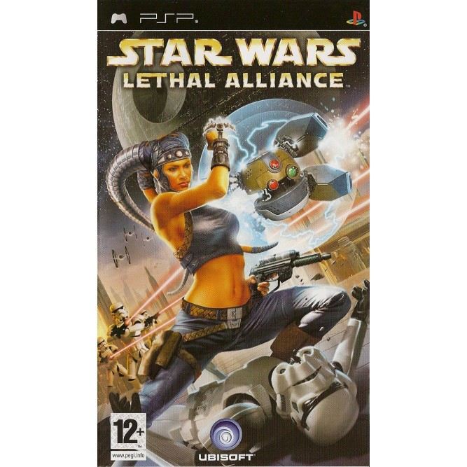 Игра Star Wars: Смертельный Альянс (PSP) б/у (rus)