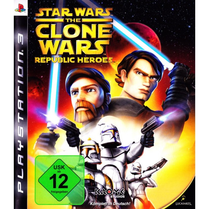 Игра Star Wars: The Clone Wars - Republic Heroes (PS3) б/у