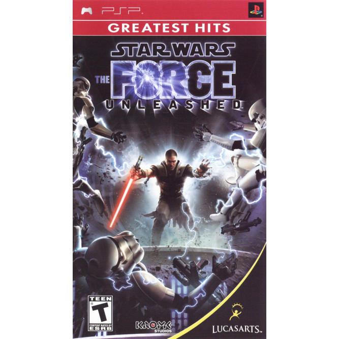 Игра Star Wars: Force Unleashed (PSP) б/у
