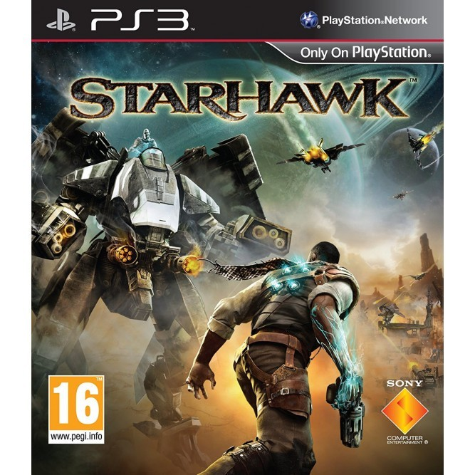 Игра StarHawk (PS3) (rus) б/у