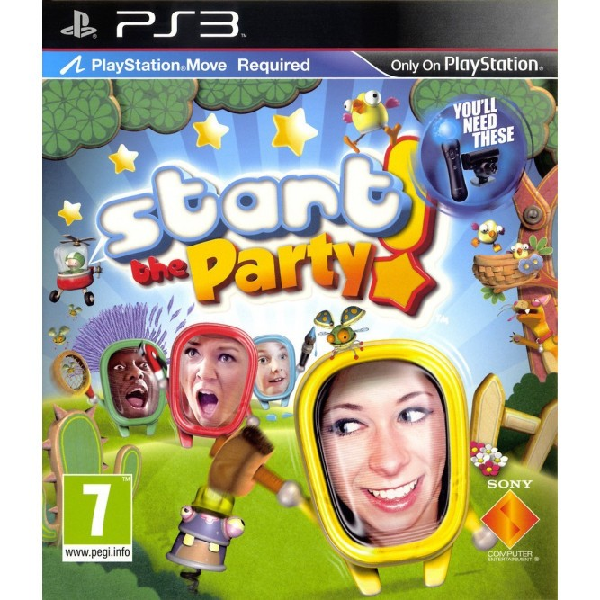 Игра Start the Party! (Только для Move) (PS3) (eng) б/у