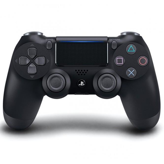 Геймпад Sony Dualshock 4 (PS4) V2, Стальной черный (аналог)