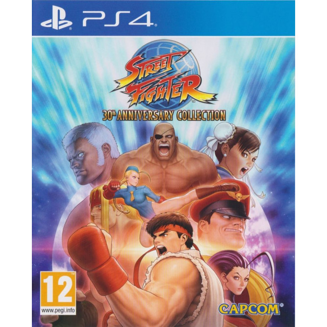 Игра Street Fighter: 30th Anniversary Collection (PS4) (eng)