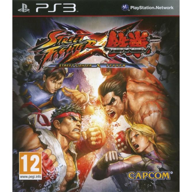 Игра Tekken X Street Fighter (PS3) б/у (eng)