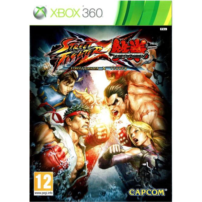 Игра Street Fighter X Tekken (Xbox 360) б/у
